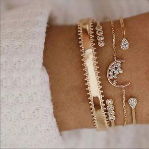 Lovely Stacked Bracelets